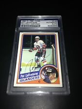 Pat LaFontaine Signed 1984-85 O-Pee-Chee OPC Rookie Card PSA Slabbed #83356658