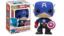 Sdcc 2017 Pop! Funko Pop Marvel Captain America #06