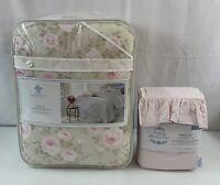 Simply Shabby Chic FULL Comforter Set Sheets Dutchess Rose 7 Pc Rachel Ashwell