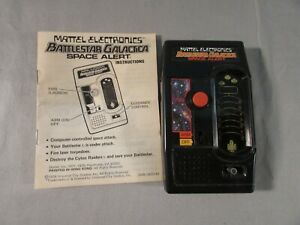 Vintage 1978 Mattel Electronics Battlestar Galactica Space Alert Handheld Game