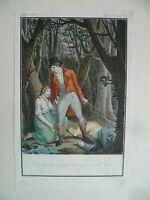 Grabado Colores Tom Jones Moreau El Joven Por Villiers Hermanos