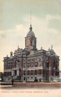 Postcard Madison County Courthouse in Anderson, Indiana~124930