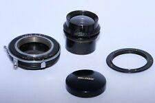 "Wollensak Verito 6 1/8"" (155mm) F4 Soft Focus lens. Covers 4x5"". Betax shutter."