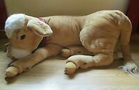 """Vintage Super Molly Steiff Huge Calf Made in Western Germany approx. 41 """" long"""