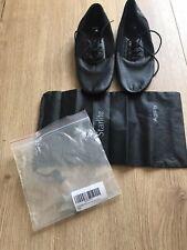 New split sole jazz shoes - Size 5.5/ Black