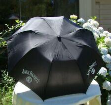 """Jack Daniel's Umbrella  -  Advertising  - Old No 7 -  48"""" Diam.  RARE"""