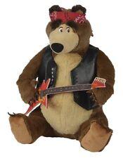 masha e orso peluche orso rock 30 cm
