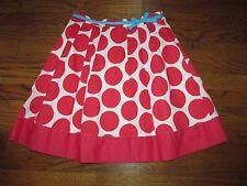 Mini Boden Girls Size 13-14 Years Polka Dot Pleated Skirt