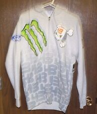 DC 43 PAC MONSTER HOODED SWEATSHIRT MENS SMALL NEW WITH TAGS FREE SHIPPING
