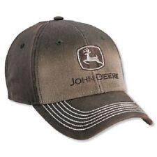 John Deere Washed Canvas Cap-LP52374