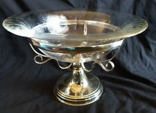 Superb John Turton & Co Silver Plated & Glass Centrepiece Early 20th Century
