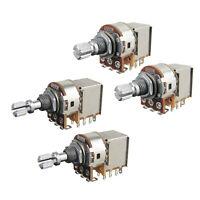 4PCS A500K B500K Push Pull Guitar Potentiometer Pots Short Shaft Switch Control