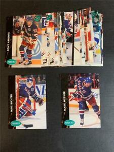 1991/92 Parkhurst New York Rangers Team Set With Update 26 Cards