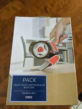 Heavy Duty Carton Box Sealer With Tape New With Box