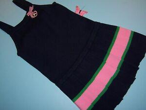 """Gymboree """"SMART GIRLS RULE"""" sz 6 DRESS...NAVY...DARLING"""