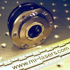"NEWPORT LFM-1A LENS FOCUSING MOUNT with extra LPLH-1T OPTIC HOLDER 1"" nrc laser"