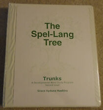 The Spel-Lang Tree Trunks, Developmental Word Study Program, 2nd Level, Haskins