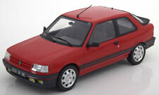 PEUGEOT 309 GTI 1.9 1987 VALLELUNGA RED NOREV 184880 1/18 ROUGE ROSSO ROT LHD