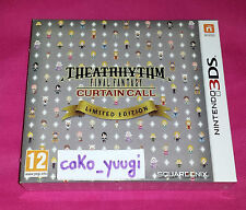 THEATRHYTHM FINAL FANTASY CURTAIN CALL LIMITED EDITION  NINTENDO 3DS PAL FR