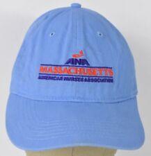 Blue ANA Massachusetts Nurses Asc Embroidered Baseball Hat Cap Adjustable Strap