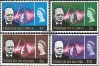 Tristan da Cunha 92-95 (kompl.Ausg.) postfrisch 1966 Churchill