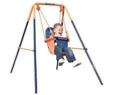 Hedstrom M08651 Folding Toddler Swing Easy Clean Fabric Seat Steel Frame - New