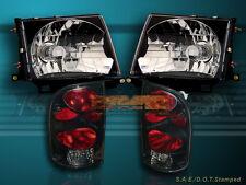 97-00 TOYOTA TACOMA 2WD 98-00 4WD HEADLIGHTS & TAIL LIGHTS BRAND NEW COMBO
