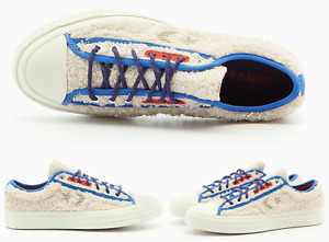 Converse Unisex Retro Sherpa Star Player Ox Sneakers Trainers Shoes 43