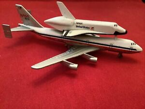 Lintoy Boeing 747 NASA Ertl NASA Space Shuttle 2 For One Must See!!!
