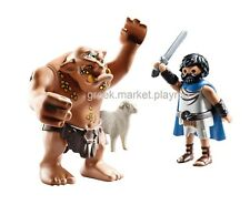 PLAYMOBIL HISTORY  70470 Ulysses and the Cyclops Polyphemus NO BOX  lower post