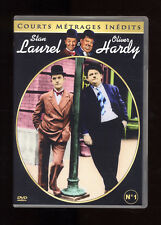 LAUREL & HARDY  ANCIEN FLIRT + 2 FILMS  COURTS MÉTRAGES INÉDITS n°1  DVD ZONE 2