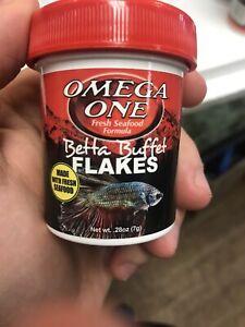 Omega One Betta Flakes, 0.28 oz