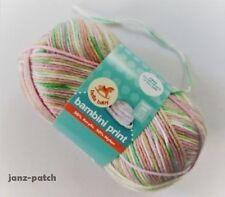 4 x 50g - Bella Baby 4ply 'Bambini Print' Knitting Crochet Yarn - Spring Mix #18