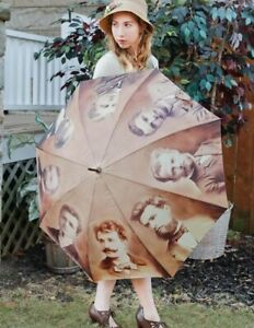 Victorian Trading Co My Lover From Another Life Vintage Photograph Umbrella 30A