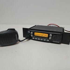 Kenwood TK-8360HU-K UHF FM 450-520MHz Mobile Radio w/ Trim RB Wire