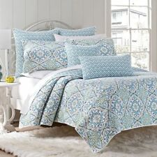 Luxury Quilted  Bedspread/Coverlet+ Matching Fabric Bags 4pcsSet 17187