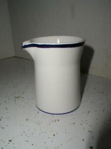 RARE Vintage Mikasa Duplex CREAMER Blue White ZUIDER ZEE Ben Seibel