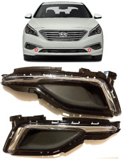 FOG LAMP LIGHT HOLE BLANK COVER FOR HYUNDAI SONATA 15-17 FRONT BUMPER TRIM BEZEL