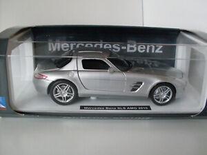 Mercedes Benz SLS AMG 2010, NewRay Modèle Auto 1:24