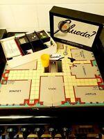 Cluedo Game Vintage 1940s John Waddington boxed and board