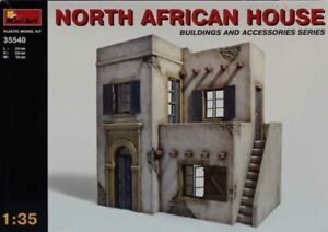 Miniart 1:35 North African House Plastic Diorama Accessory #35540U