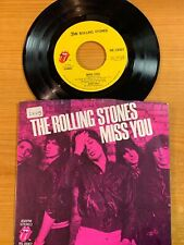 """Rolling Stones - Miss You // 7"""" - 1. US-Pressing 1978 (RS 19307) - TOP condition"""