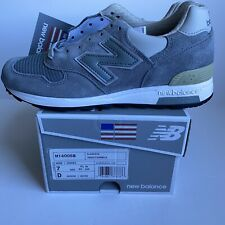 New Balance 1400 Made In USA Steel Blue Gray Shoes M1400SB - Mens 7 = Womens 8.5