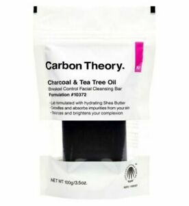 Carbon Theory Charcoal & Tea Tree Oil Break-Out Control Facial Cleansing Bar