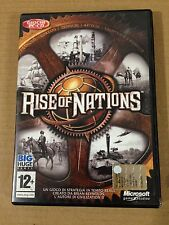 RISE OF NATIONS - Big Huge / Microsoft - PC CD ROM COMPLETAMENTE IN ITALIANO
