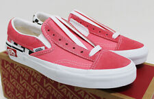 NIB VANS Women's Slip-On Cap Checkerboard Strawberry Pink Low Top Sneakers Shoes