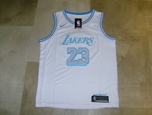 "Nike ""Wish City"" NWT Los Angeles Lakers Lebron James #23 Men's Jersey Size Large"