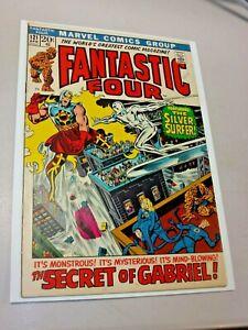 Fantastic Four #121 (Marvel Comics 1972) VF+ Silver Surfer vs Gabriel