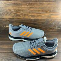 Adidas Sole Court Boost Men's Tennis Shoes Gray Racket Racket Sz 12 EF2067