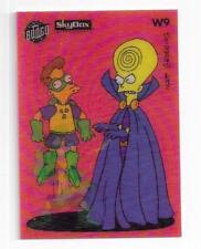 Simpsons 1994 series 2 Wiggle Lenticular Motion card W9 Hypno Head